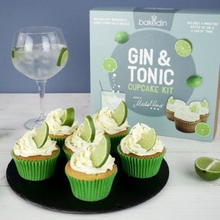 You can now buy gin and tonic cupcakes