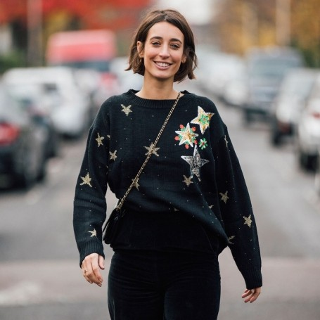 How to style your Christmas jumper, according to 3 fashion icons
