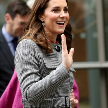 This is where you can get Kate Middleton's grey coat – and it's a high street store