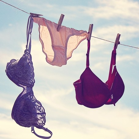 This is how you're actually supposed to dry your bras