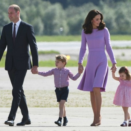 Prince George and Princess Charlotte will never live at Buckingham Palace