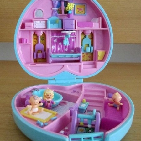 Original Polly Pocket dolls are now worth a shedload of ...