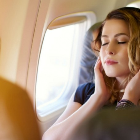 This is where to sit on a plane if you want to sleep well in economy class