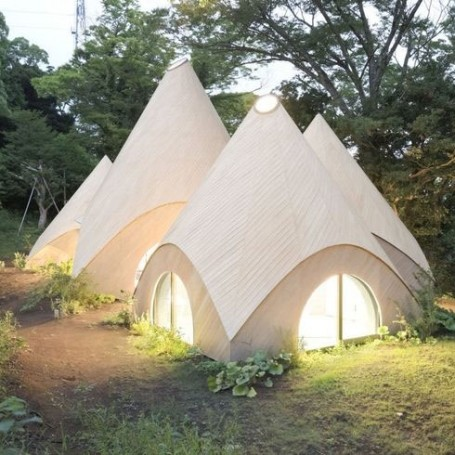 This Japanese forest home is cuter than any Hobbit house