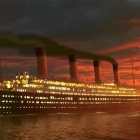 The tragic true story behind Titanic's cuddling lovers