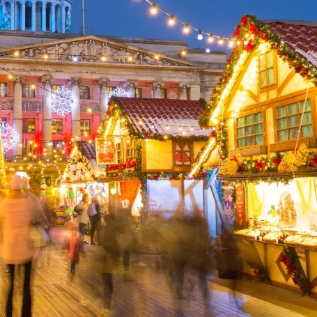 This Christmas market has been named the UK's favourite