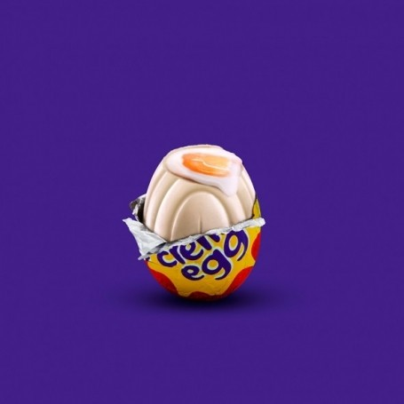 The first white Cadbury's Creme Egg has been found