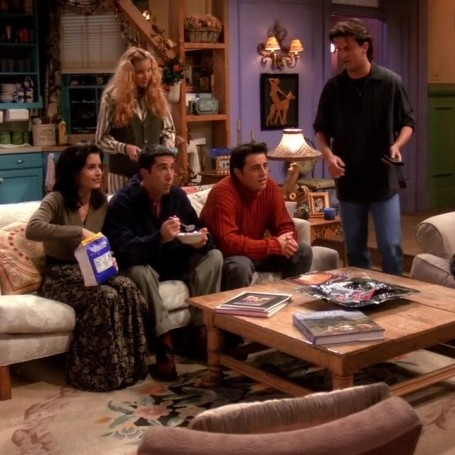 There's a creepy Friends mistake from the first episode we missed