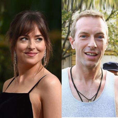 Dakota Johnson and Chris Martin were just spotted on a romantic dinner date