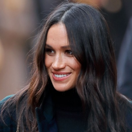 Meghan Markle steps out in chic tartan coat while visiting Scotland