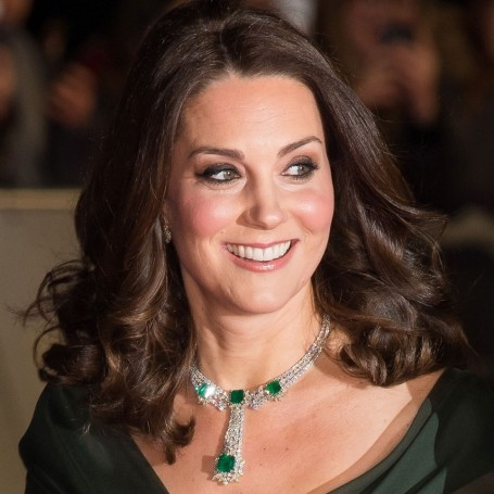 Kate Middleton ignores BAFTA black dress code in floaty green dress