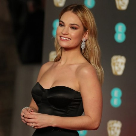 Lily James prompts Matt Smith engagement rumours with huge diamond ring