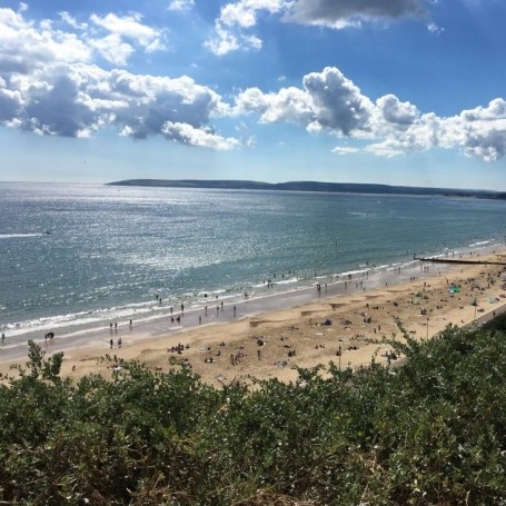 Bournemouth beach has been ranked one of the best in Europe
