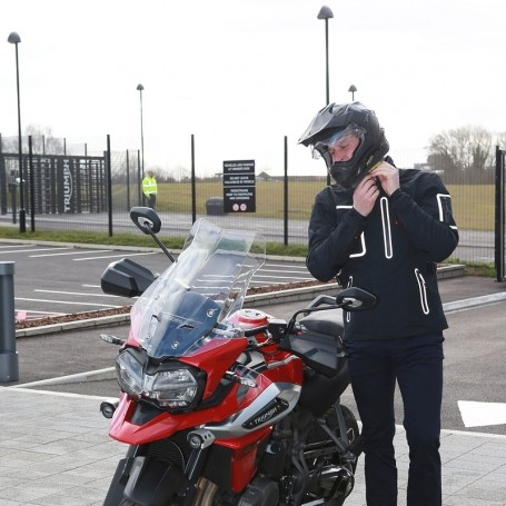 These photos of Prince William riding a motorbike will make your day