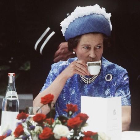 The Queen finally settles the great cream tea debate