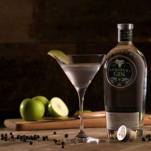 Ramsbury Gin's Apple Martini