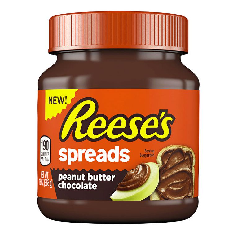 Reese's peanut butter chocolate spread sounds like the ...