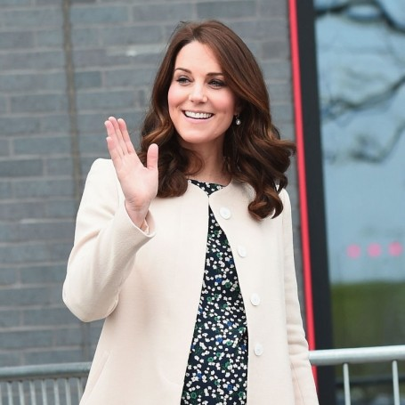The Duchess of Cambridge is spotted wearing a £49 top from Hobbs
