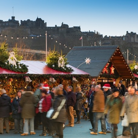 Christmas Market - Edinburgh - Getty