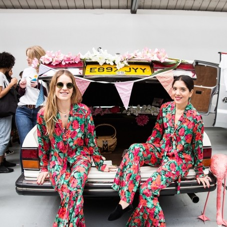 Is this the most stylish Car Boot Sale ever?