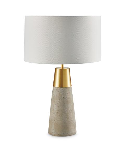 Aldi kirkton house concrete effect lamp £24 99