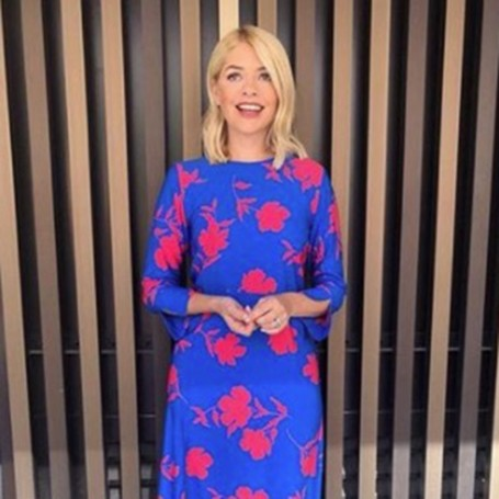 Holly Willoughby wowed viewers in a gorgeous Henry Holland dress