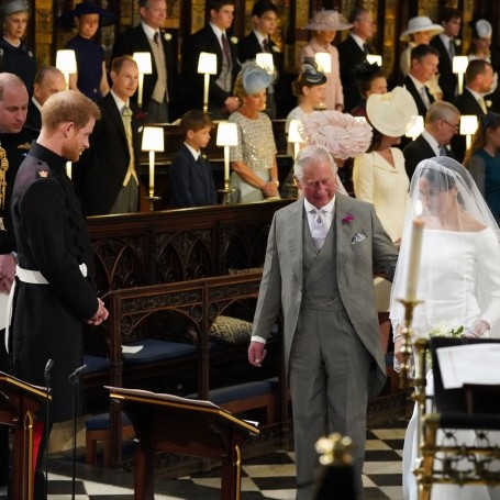 The words Prince Harry said to Meghan when she joined him at the altar will melt you