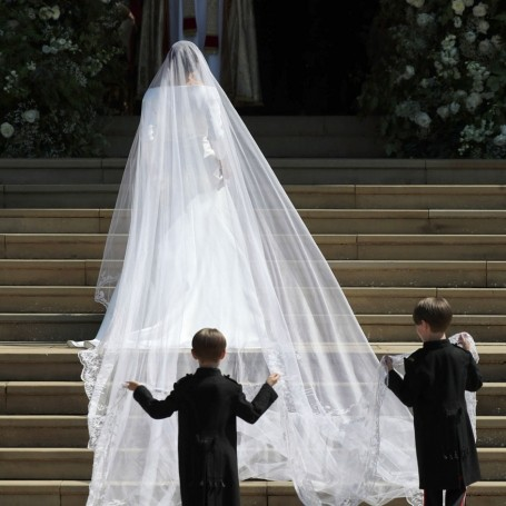 The secret meaning behind Meghan Markle's dramatic royal wedding veil