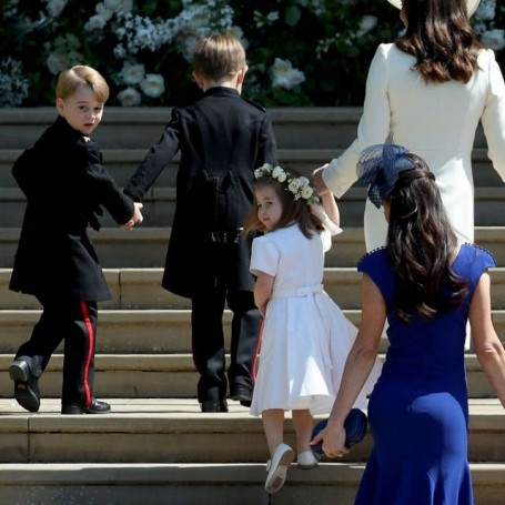 This is why Prince George looked different at the royal wedding