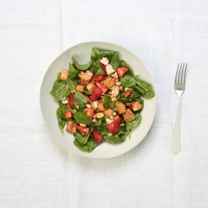 Selasi's Spinach and Strawberry Salad