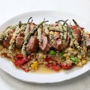 Selasi's Crispy Duck Salad
