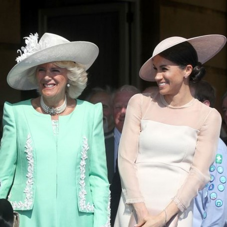 Why Meghan Markle and Camilla Parker Bowles couldn't stop giggling