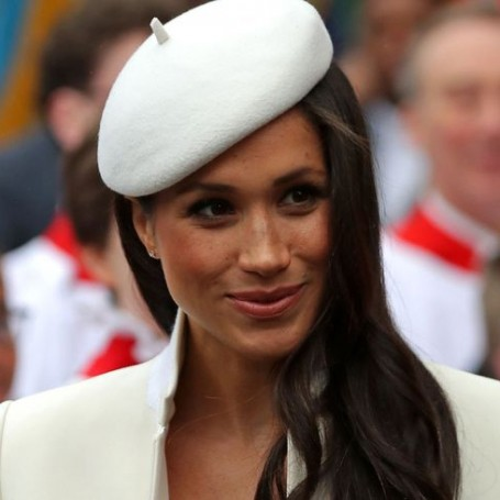 This is what Meghan Markle wore for her first solo engagement with the Queen