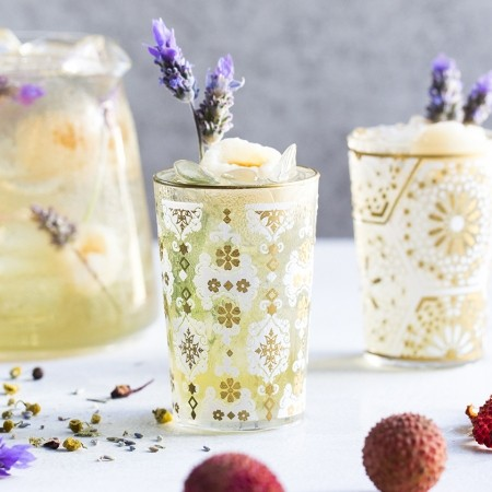 Iced tea with lavender - T2