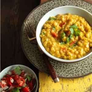 Anjum Anand's easy tarka dhal recipe