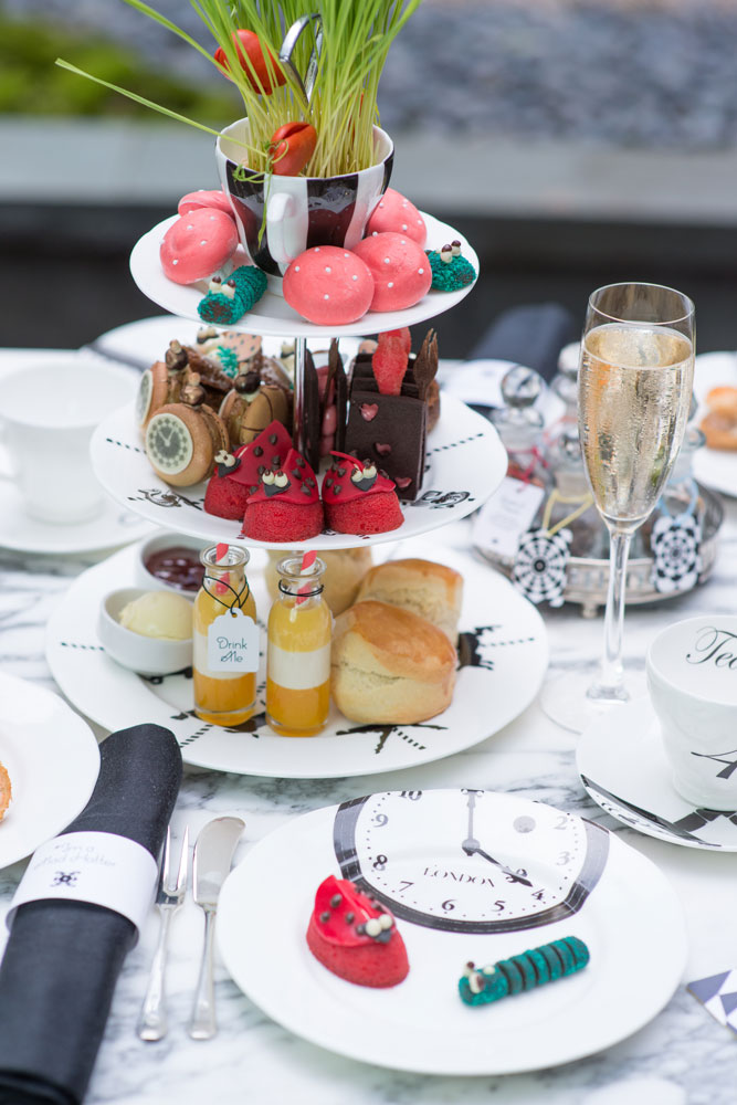 Mad Hatters Tea Party Sanderson Hotel London