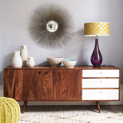 Sideboard Styling Ideas Decorating Ideas Interiors Red