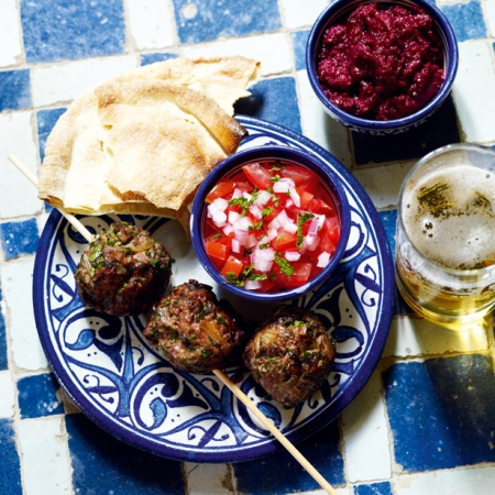 Moroccan lamb kebabs recipe dinner party recipes red online forumfinder Choice Image
