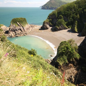 Beautiful hidden beaches in the South West