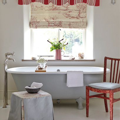 Coloured Roll Top Bath Ideas Decorating Ideas For The