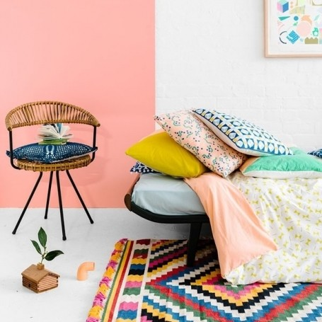 Colour your bedroom happy