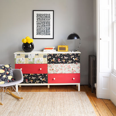 Upcycling A Chest Of Drawers Diy Projects Red Online