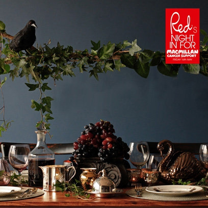 How To Dress Your Dinner Table Dinner Party Ideas Red