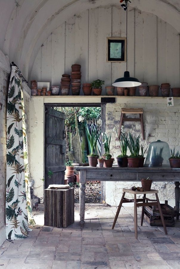 Interior Shed Decorating Ideas: Garden Decorating Ideas - Red Online