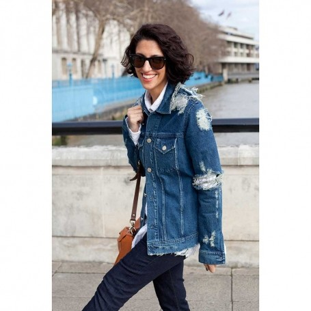 The Fashion Girl's Guide to Wearing a Denim Jacket