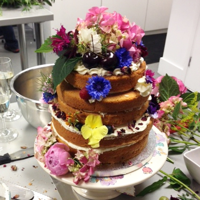 how to make your wedding cake