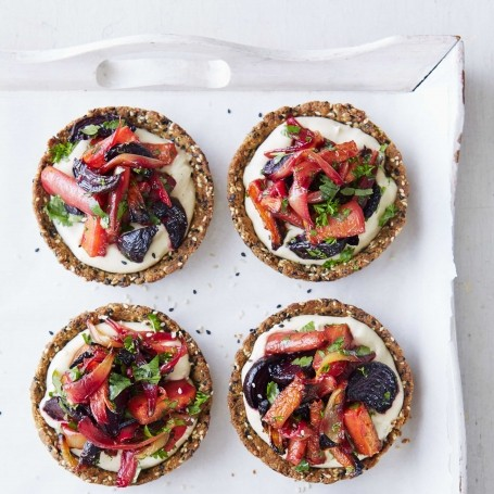 The most delicious vegetarian canapes recipes