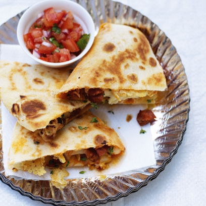 Chorizo potato thyme quesadillas red online forumfinder Gallery